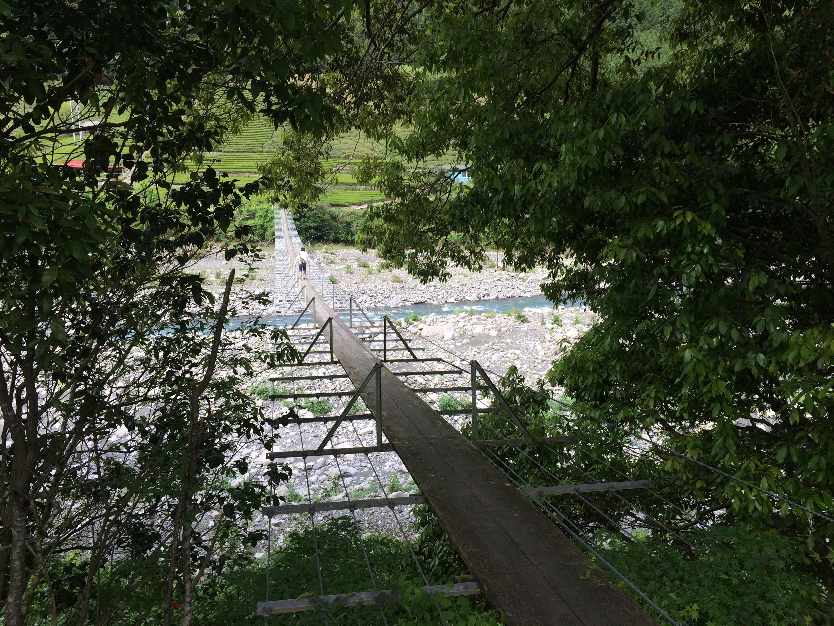 出合いのつり橋